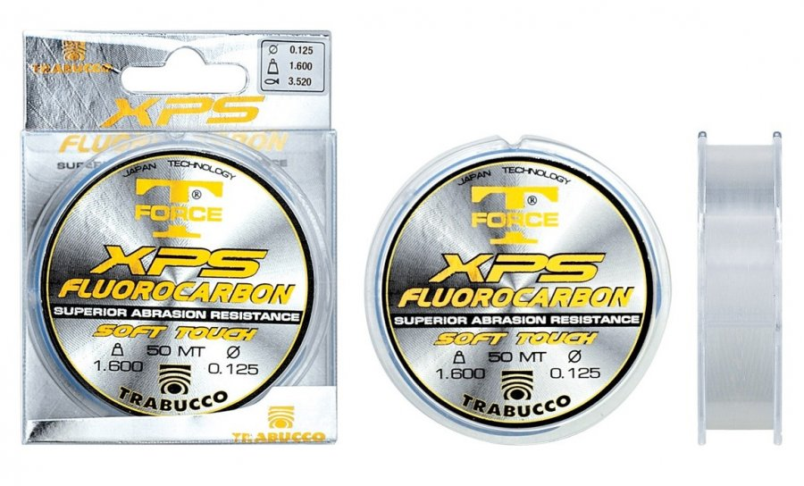 Trabucco fluorocarbon T-Force XPS 0,164mm/50m