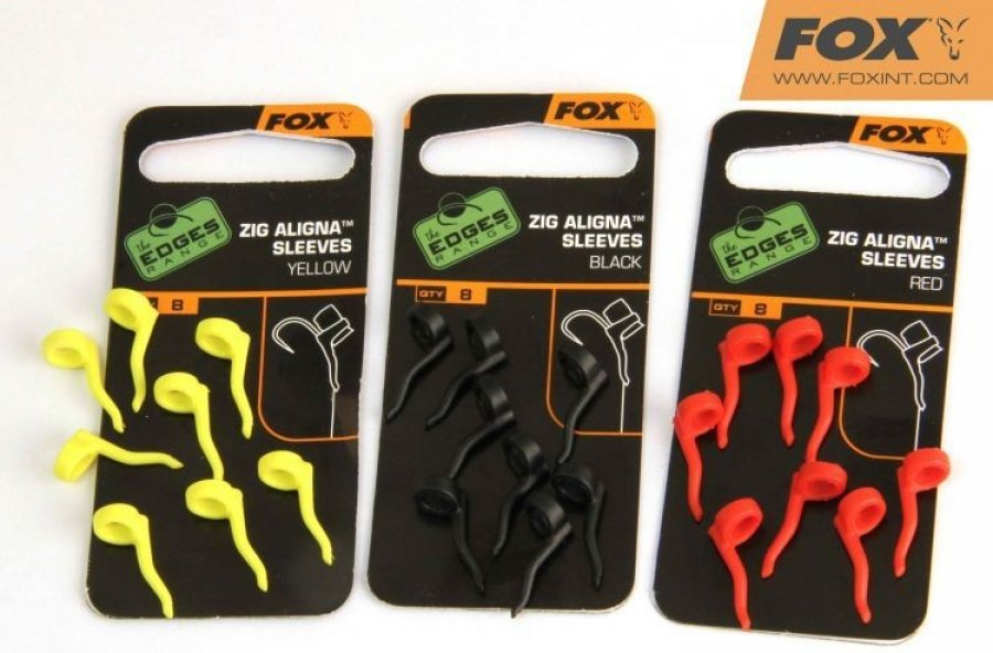 Fox Edges Zig Aligna Sleeves žluté