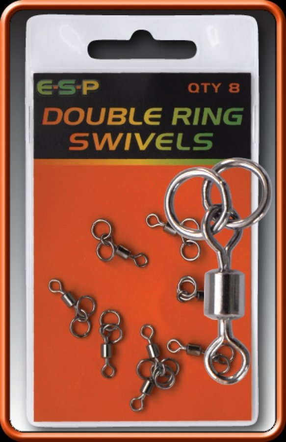 ESP obratlílky Double Ring Swivels 8ks