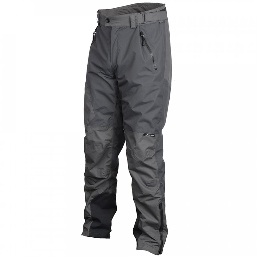 Savage Gear kalhoty Black Savage Trousers Grey vel. XXL