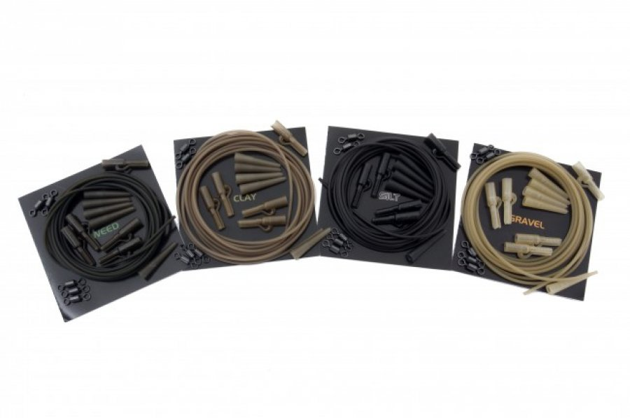 Korda závěsky Lead Clip Action Pack Silt 5ks