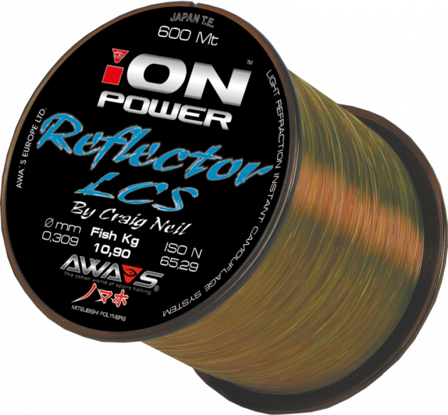 Awa-Shima vlasec Ion Power Reflector LCS 0,22mm 600 m