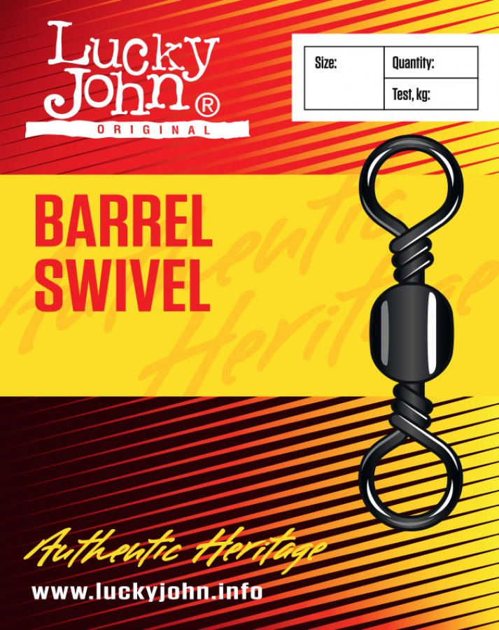 Lucky John obratlíky Barrel Swivels 022, 10ks