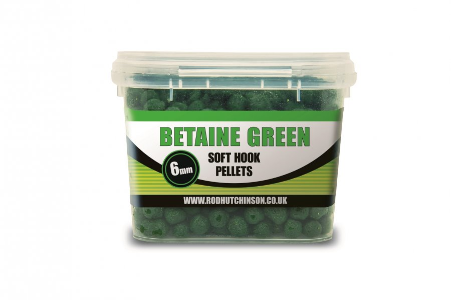RH chytací pelety Soft Hook Pellets Betaine Green 6mm 200g