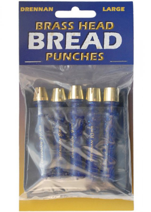 Drennan razníky Brass Bread Punches Large