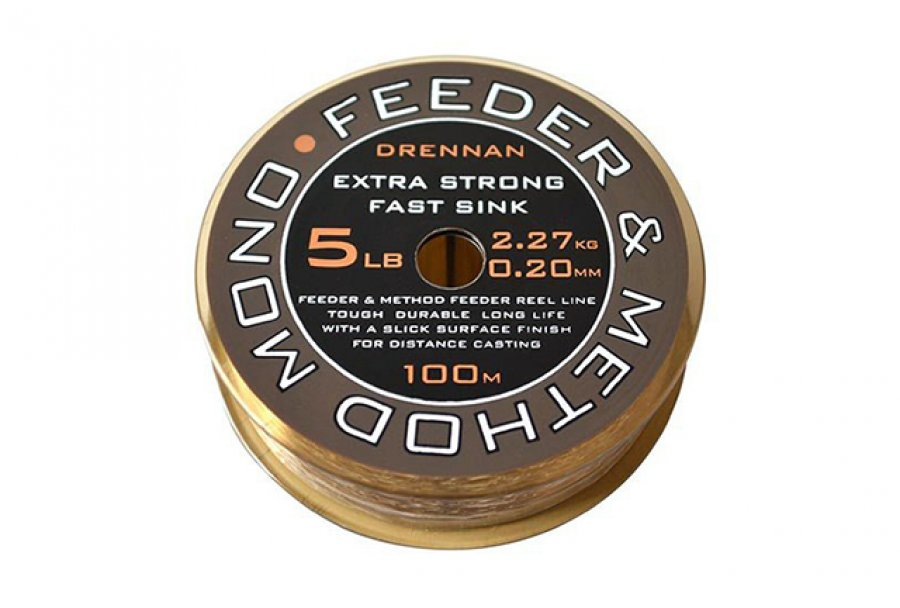 Drennan vlasec Feeder & Method Mono 250m 12lb 0,30mm