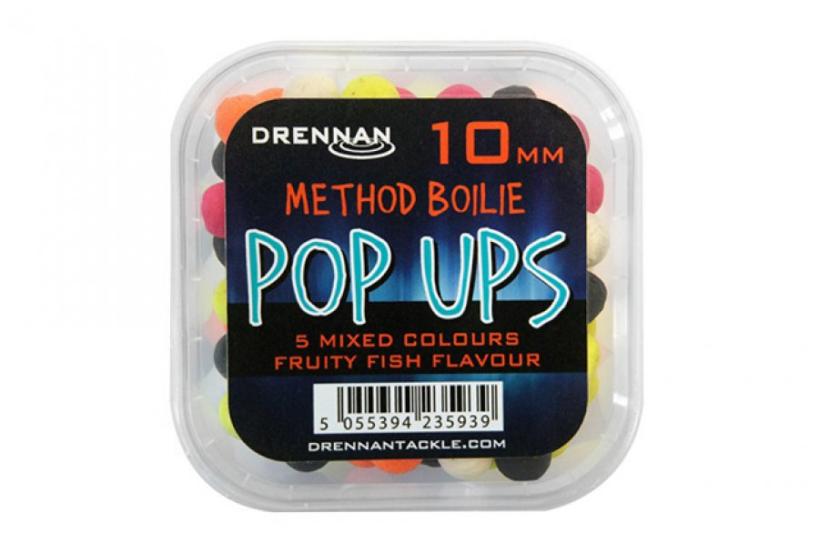 Drennan plovoucí nástrahy Method Boilie Pop Ups 10mm