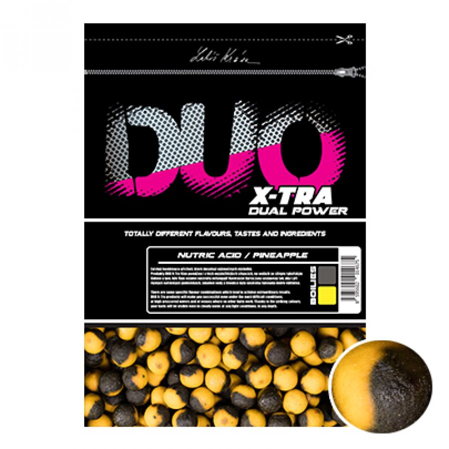LK Baits DUO X-Tra Boilies Nutric Acid/Pineapple
