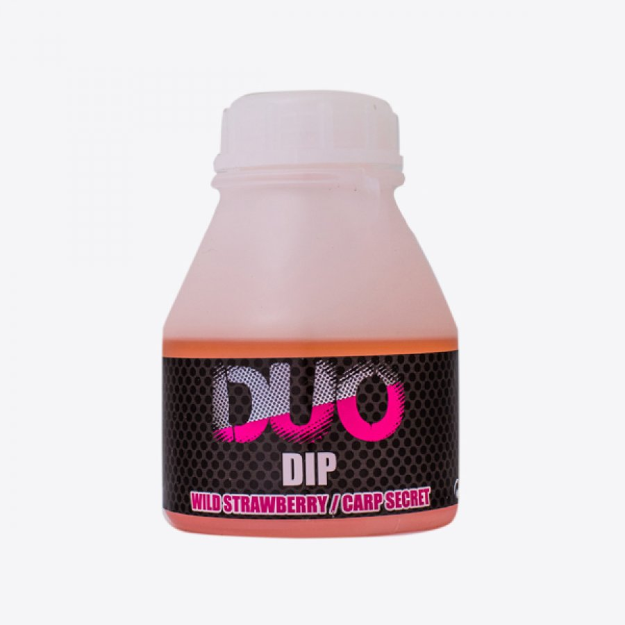 LK Baits DUO X-Tra Dip Wild Strawberry/Carp Secret 200ml