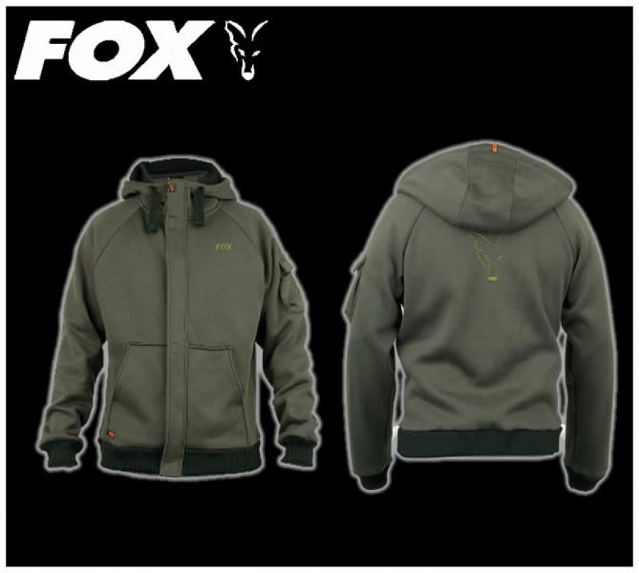 Fox mikina Superweight Hoody Green XL