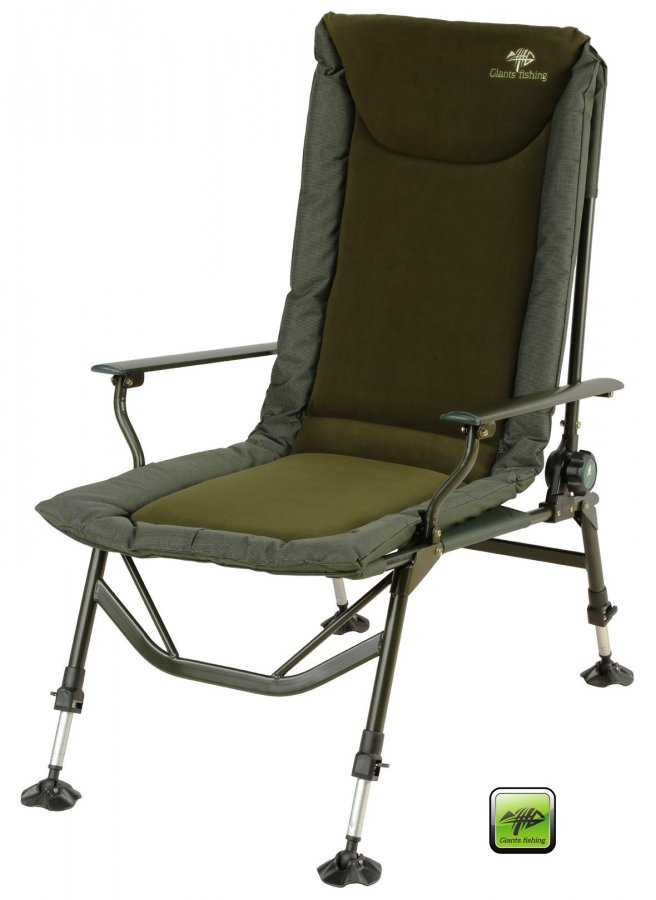 Giants Fishing křeslo Luxury Fleece MKII Chair