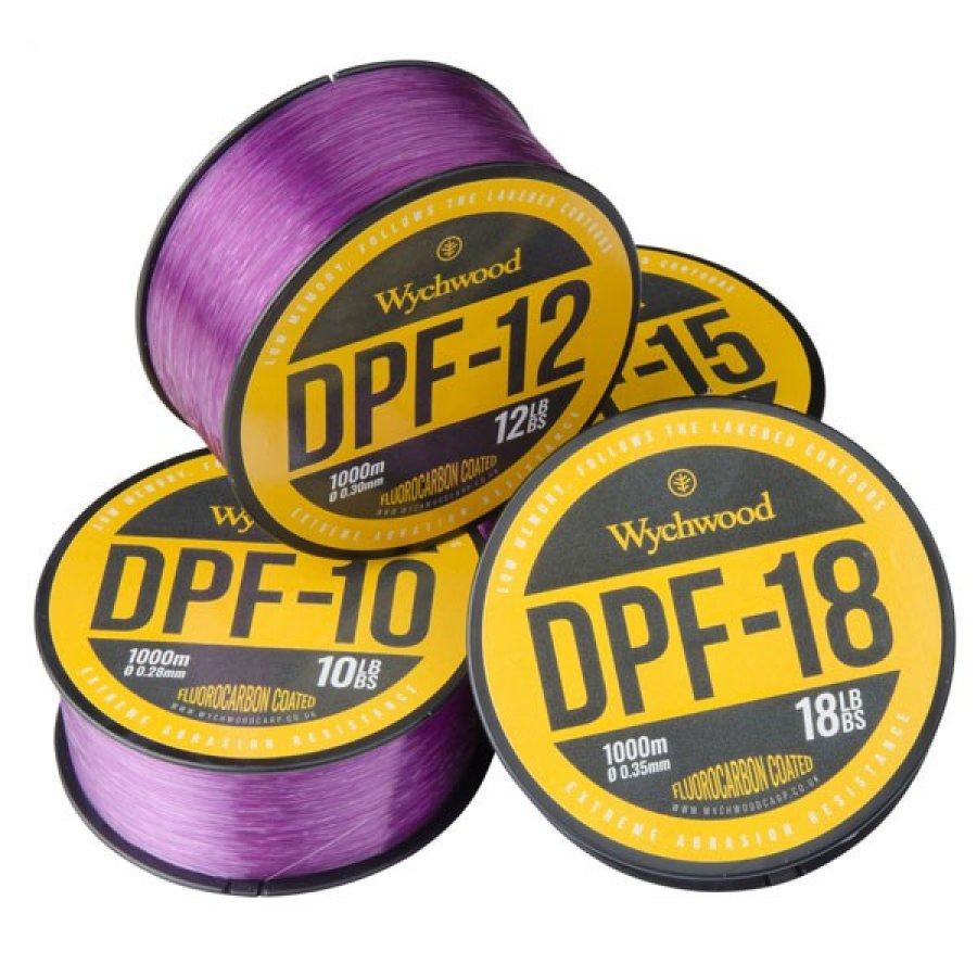 Wychwood vlasec Deep Purple Fluoro Coated Mono 15lb/0,33mm/1000m