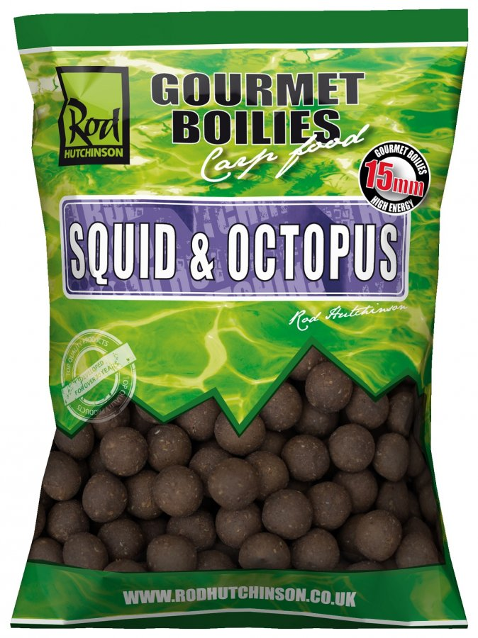 RH boilies Squid Octopus With Amino Blend Swan Mussell 15mm 1kg