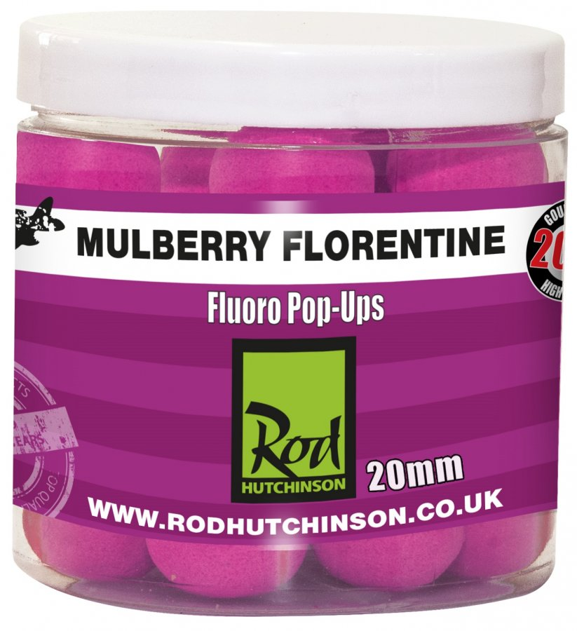 RH Fluoro Pop-Ups Mulberry Florentine with Protaste Plus  20mm