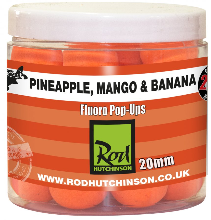RH Fluoro Pop-Ups Pineapple, Mango & Banana  20mm