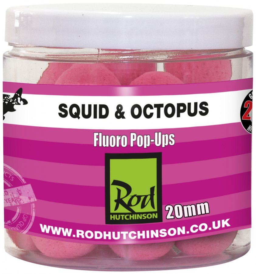 RH Fluoro Pop-Ups Squid Octopus with Amino Blend Swan Mussell