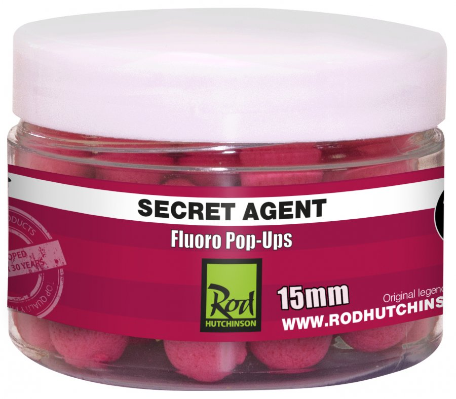 RH Fluoro Pop-Ups Secret Agent with Liver Liquid 15mm