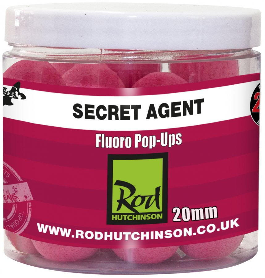 RH Fluoro Pop-Ups Secret Agent with Liver Liquid 20mm