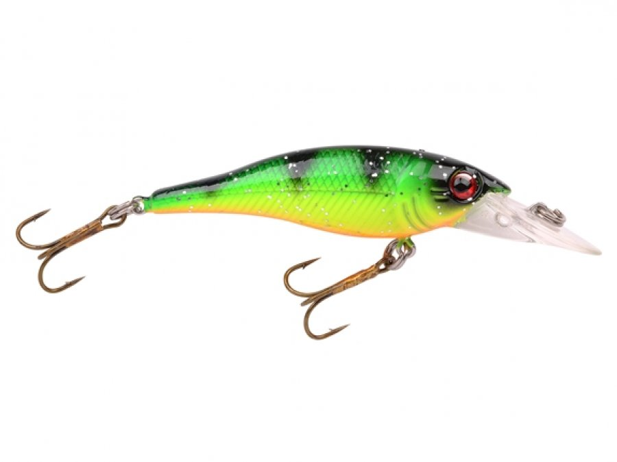 SPRO Wobler PC CRANKY MINNOW GREEN PERCH 5.5CM