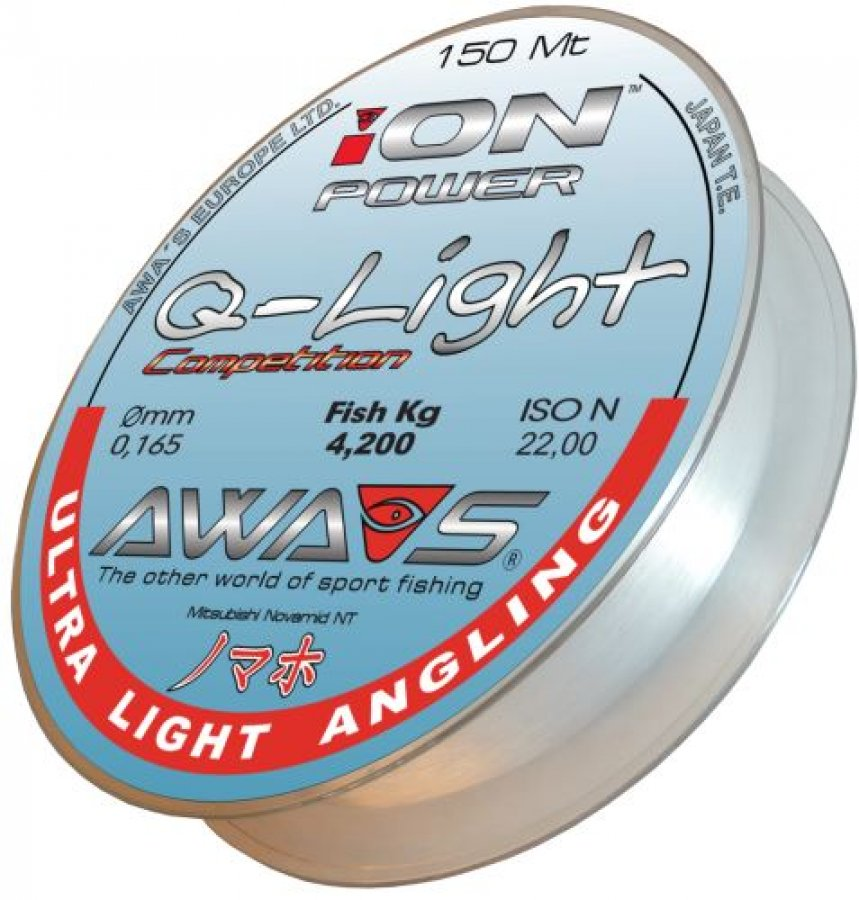 Awa-shima vlasec Ion Power Q-Light Competition 0,148mm 150m
