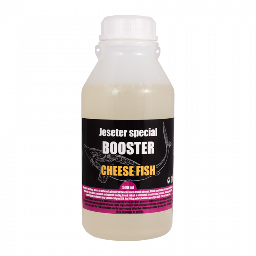 LK Baits Jeseter Special Booster Cheese 500ml