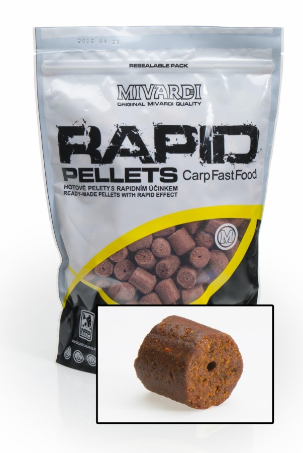 Mivardi pelety Rapid Extreme - Spiced Protein 20mm 1kg