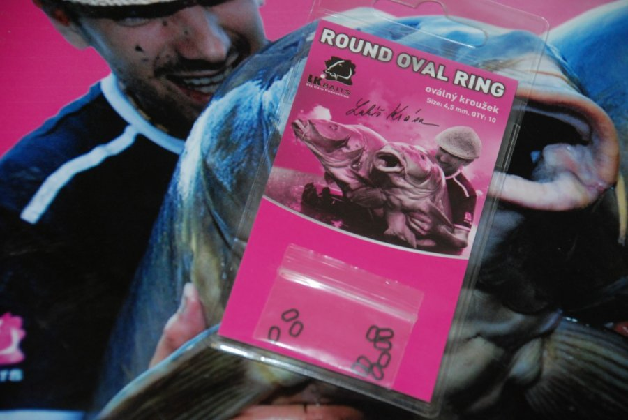 LK Baits Round Oval Ring