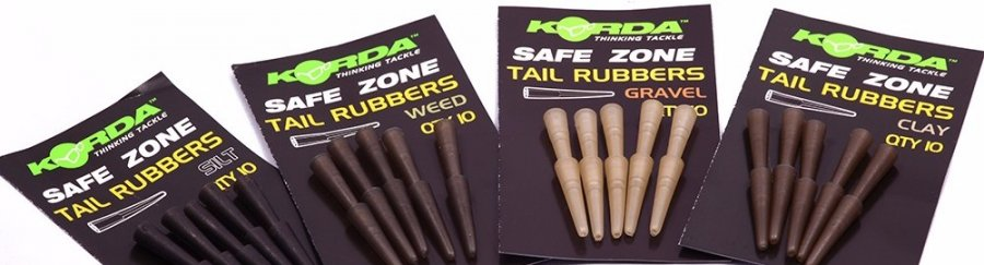 Korda převleky Tail Rubbers Clay 10ks
