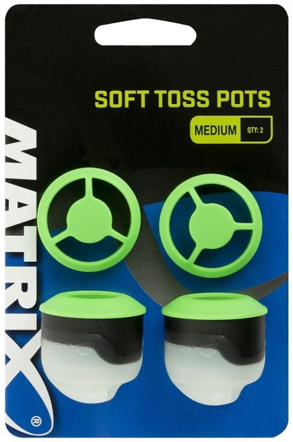 Fox krmítko na špičku prutu Matrix Soft Pots -  Medium