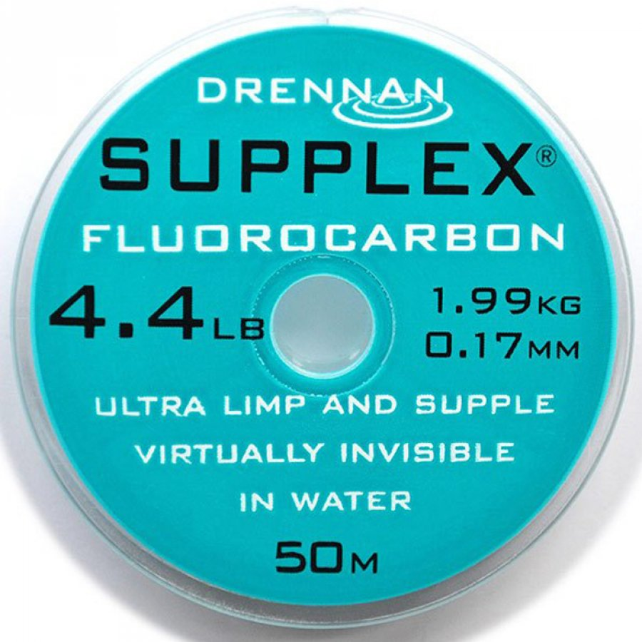 Drennan vlasec Supplex fluorocarbon 50m 6,4lb 0,22mm