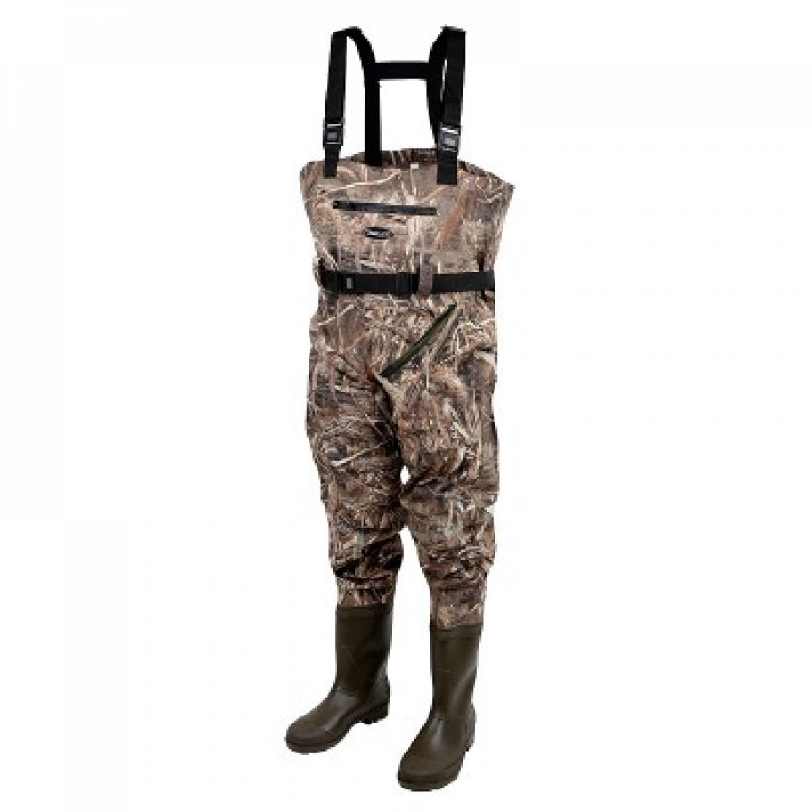 Prologic prsačky Max5 Nylo-Stretch Chest Wader w/Cleated 46/47-11/12