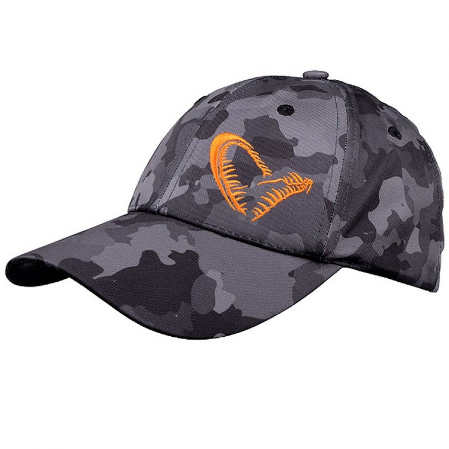 Savage Gear kšiltovka Black Savage Cap