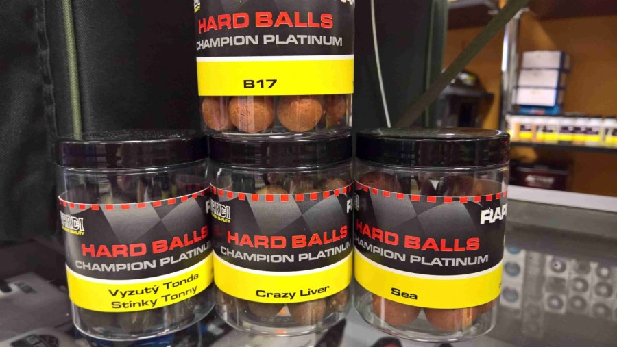 Mivardi Rapid Hard Balls Champion Platinum - B17 18 mm
