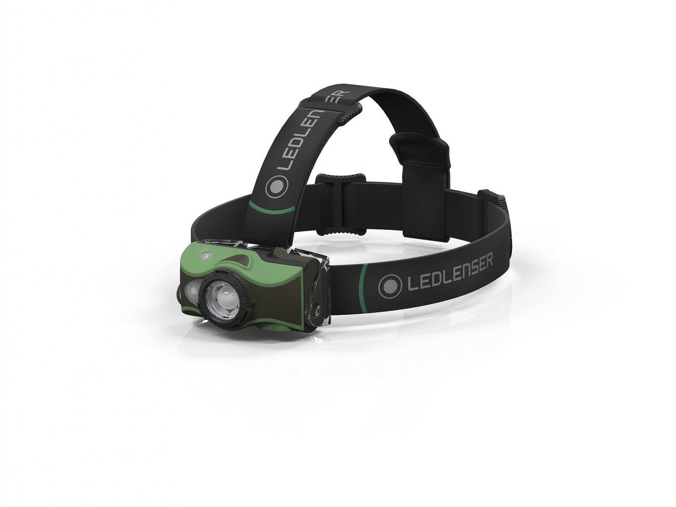 Ledlenser čelovka MH8 zelená