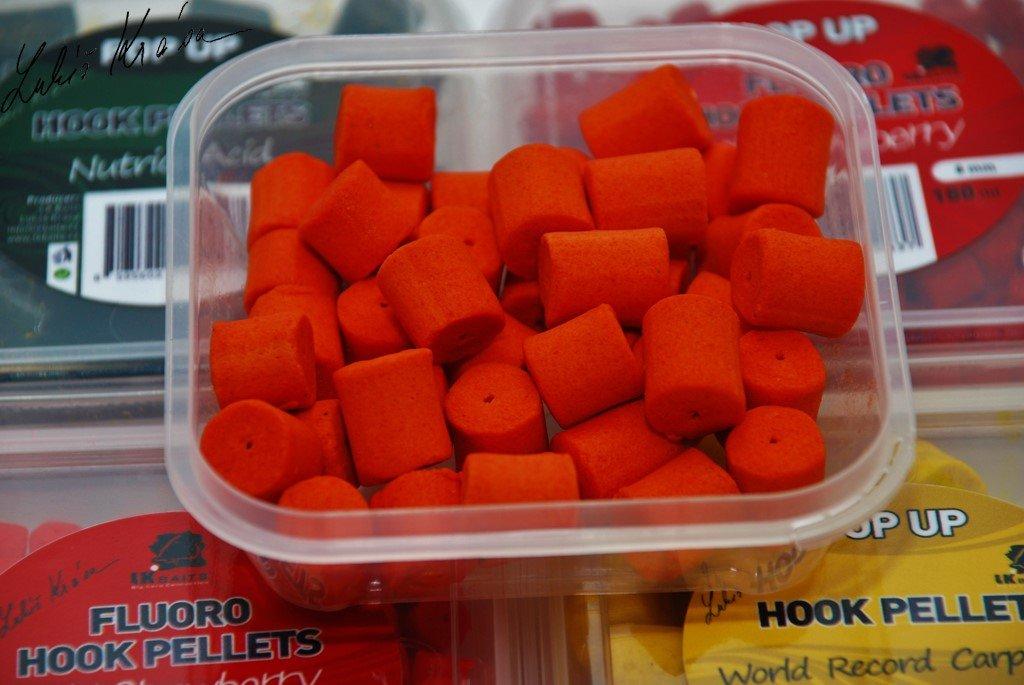 LK Baits Fluoro POP-UP Hook Pellets Compot NHDC 150ml, 12mm