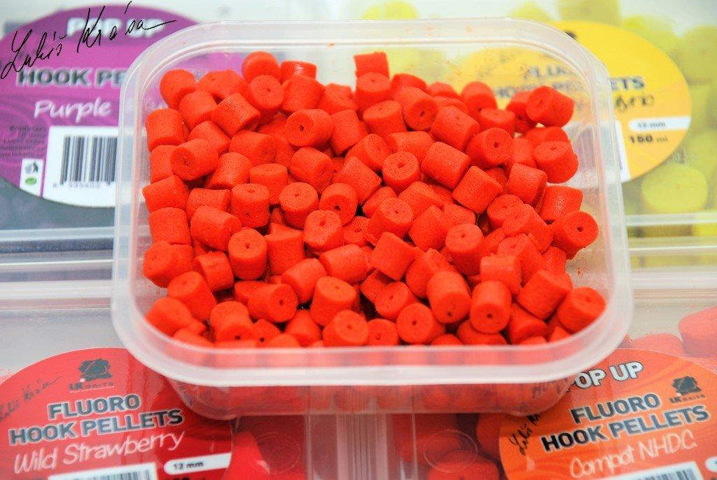 LK Baits Fluoro POP-UP Hook Pellets Compot NHDC 150ml, 8mm