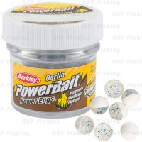 Berkley jikry Power Bait Garlic Eggs Clear White