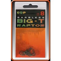 ESP háčky bez protihrotu Big-T Raptor Barbless