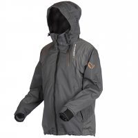 Savage Gear bunda Black Savage Jacket Grey vel. XL