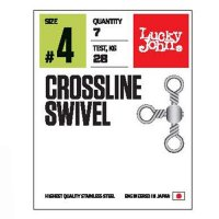 Lucky John obratlíky Crossline Swivel