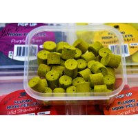 LK Baits Fluoro POP-UP Hook Pellets Green Banana 150ml, 12mm