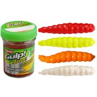 Berkley GULP! ALIVE HONEY WORM 2,5CM WHITE
