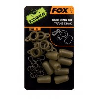 Fox Run Rings Beads Brown