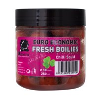 LK Baits Fresh Boilie Economic Chilli Squid 18mm 250ml