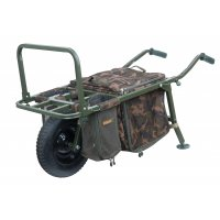 Fox vozík FX Explorer Barrow And Camo Lite Bag Inc 2 Straps & Mesh Bags