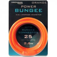 Drennan guma Power Bungee - Orange 25