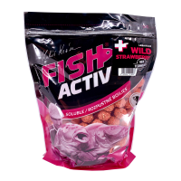 LK Baits Fish Activ Plus Wild Strawberry 1Kg