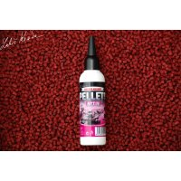 LK Baits Pellets Activ 100 ml Salt Red Hallibut