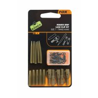 Fox Edges Power Grip Lead Clip Kit Size 7