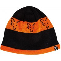 Fox čepice black / orange beanie